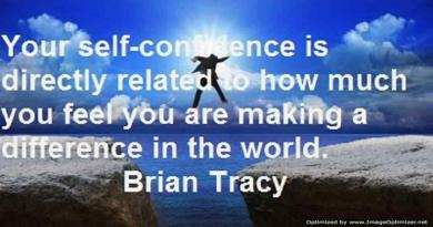 developing self confidence