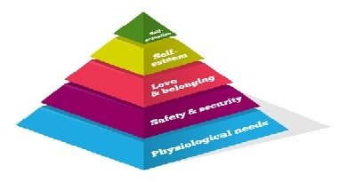 he Five Levels of Maslow's Hierarchy of Needs